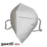 FDA approved disposable KN95 Respirator. Filtrates 95% of particles. Sold in packs of 40.